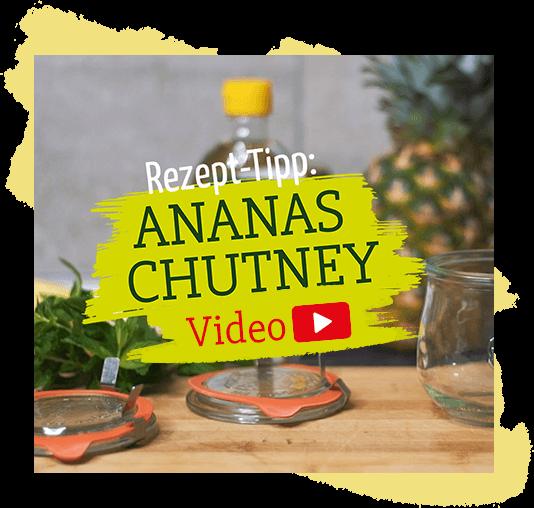 Pfiffiges Ananas Chutney