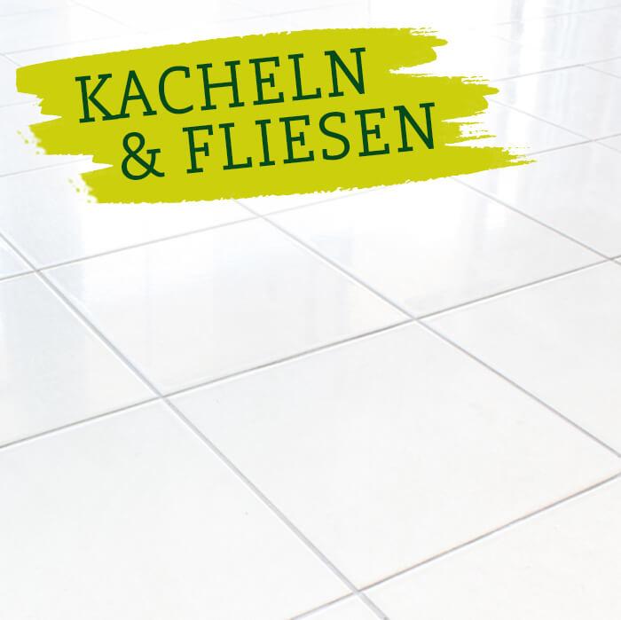 Bad putzen & entkalken mit SURIG Essigessenz & Zitronensäure