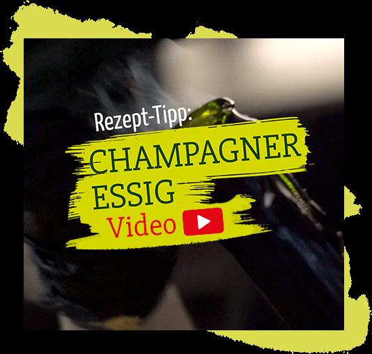 Champagner Essig mit SURIG