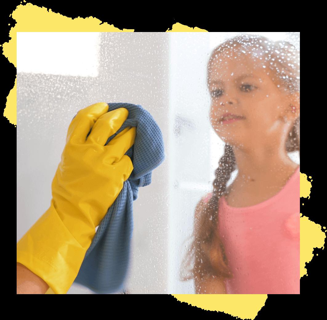 Für streifenfreie Fenster und Flächen