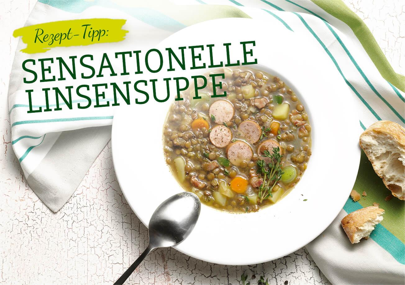 SURIG Rezept-Tipp - Linsensuppe