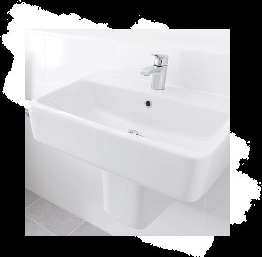 Für ein strahlend sauberes Badezimmer