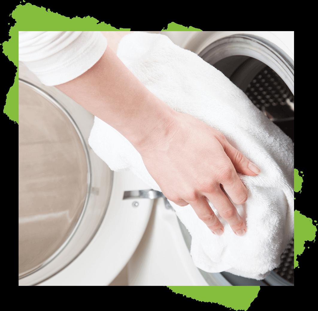 Für gepflegte und weiche Wäsche