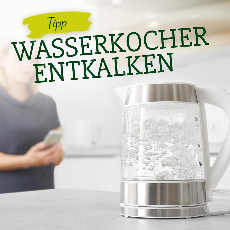 Wasserkocher entkalken - Surig Essigessenz